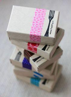 Empaque tarjetas