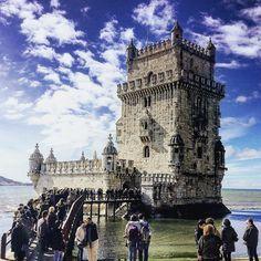 Torre de Belém. One of my favourite sites. #architecture #history #tourism // #Belém #Lisboa #Portugal