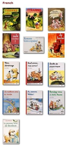 "French children's books for the smartboard -- though some difficult vocabulary and passé simple. ""Rendez-vous à trois heures"" could work for household chores. French Kids, Free In French, French Teaching Resources, Teaching French, Teaching Spanish, Teaching Reading, How To Speak French, Learn French, Free Kids Books"