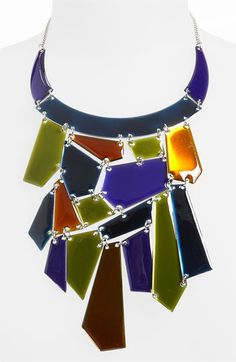 Natasha Couture 'Mosaic' Statement Necklace available at #Nordstrom