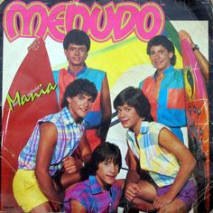 80s latin boy band, seriously, I still have 3 of there albums! this is where Ricky Martin started...