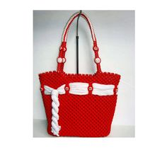 MacrameHandmade fashion bag by BagsMagicKnots on Etsy