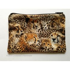 Handmade Australia :: The online handmade marketplace :: Open 24 hours :: Buy, Sell, Learn Change Purse, Upcycled Vintage, Cheetah Print, Buy And Sell, Australia, Purses, Stuff To Buy, Handmade, Bags