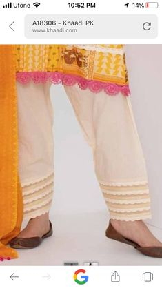 Salwars Pouncha Design Simple and Easy - YouTube | Salwar ...
