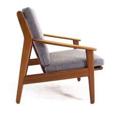 Poul Volther; Oak Armchair for FDB, c1960.