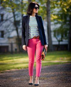 calcacolorida2 Como usar: calças coloridas