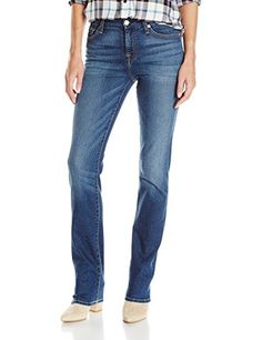 7 For All Mankind Womens Kimmie Straight Leg Jean Medium Melrose 29     Check this 464d6e1c79