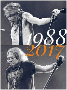 William Axl Rose. Then. Now. Forever.
