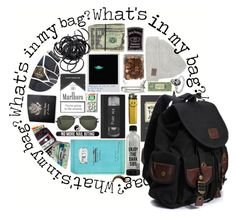 """""""What's in my bag?"""" by jlol ❤ liked on Polyvore featuring interior, interiors, interior design, home, home decor, interior decorating, Ray-Ban, Bershka, Zippo and Passport"""