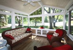 Indoor Sunroom Decorating And Ideas For