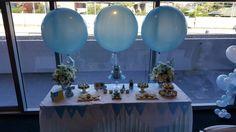 Desert table decor. Just stunning! www.balloons.com.au