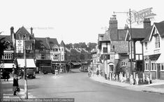 Photo of Purley, Main Road from Francis Frith Croydon Airport, Old London, Interesting History, Surrey, Old Photos, Childhood Memories, Landscape Photography, Maine, Nostalgia
