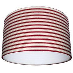 original_handmade-ticking-lampshade-in-red.jpg 900×900 pixels