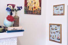 DIY Printed Paper Wall Art Tomato Vine, Paper Wall Art, Vines, Roots, Gallery Wall, Printed, Blog, Diy, Vintage