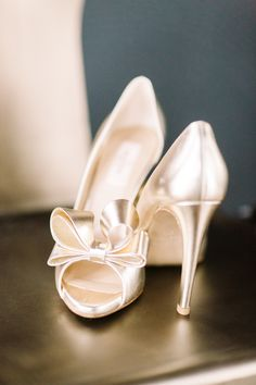 View entire slideshow: Metallic Shoes That Will Make You Melt on http://www.stylemepretty.com/collection/2151/