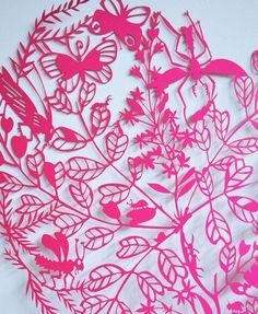 Love Bugs Paper Cut