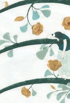 La bella mandarina… Elena Odriozola