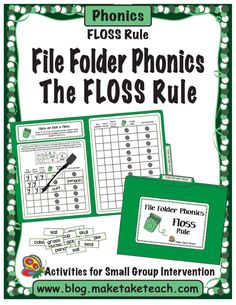 """Memory aids are often used to help students remember certain spelling rules. The FLoSS rule is one of the first spelling rules taught to our first and second grade students to help them understand when to double the final """"f"""", """"l"""" and """"s"""" consonants at the end of certain words. The word """"floss"""" actually follows the FLoSS …"""
