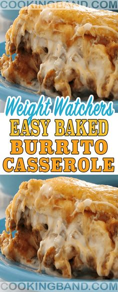 Easy Baked Burrito Casserole Recipe – Cooking Band Source by Skinny Recipes, Ww Recipes, Mexican Food Recipes, Cooking Recipes, Healthy Recipes, Recipies, Skinny Meals, Mexican Dishes, Crockpot Recipes