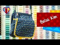 Compre a bolsa ou o projeto completo da Bolsa de tecido Kim com passo a passo, lista de materiais, riscos dos moldes (em tamanho natural) e foto colorida da ...