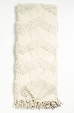 Nordstrom at Home Zigzag Tufted Throw available at #Nordstrom