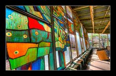 Stained Glass by Timm Suess, via Flickr