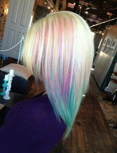 Im soooo in love with this hair color!