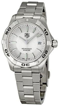 84035599dae TAG Heuer Men's WAP1111.BA0831 Aquaracer Silver Dial Watch TAG Heuer,http:/