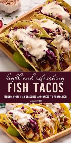 Salmon Fish Tacos, Slaw For Fish Tacos, Fish Tacos With Cabbage, Healthy Fish Tacos, Blackened Fish Tacos, Easy Fish Tacos, Grilled Fish Tacos, Mexican Fish Tacos, Tilapia Tacos