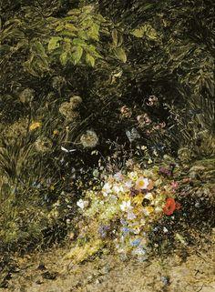Masterpieces by Egon Schiele and Gustav Klimt, Vienna 1900 and Art Nouveau. Gustav Klimt, Process Of Evolution, Florian, Museum, Landscape Paintings, Flower Power, Art Nouveau, Manfred, Flowers