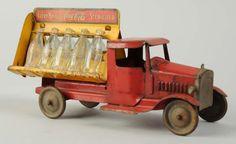 Lot # : 14 - Coca-Cola Metalcraft Toy Truck.