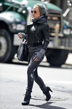 P!nk in New York....great outfit though