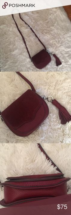 Rebecca Minkoff bag great condition Little sticky part inside I used extra material to cover it! See last pic PRICE FIRM Rebecca Minkoff Bags Mini Bags