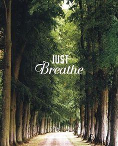 Just breathe -  Inspiration Typo #sezane #journalsezane