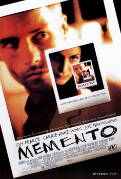 Memento 27x40 Movie Poster (2000)