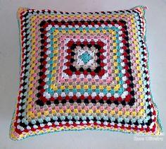 Tecendo Artes em Crochet: Almofadas Prontas!
