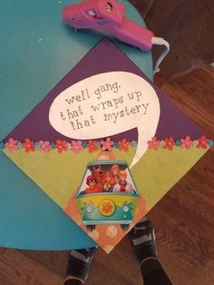 Scooby doo graduation cap - Decoration For Home Disney Graduation Cap, Funny Graduation Caps, Graduation Cap Designs, Graduation Cap Decoration, Graduation Diy, High School Graduation, Graduate School, Graduation Quotes, Graduation Announcements