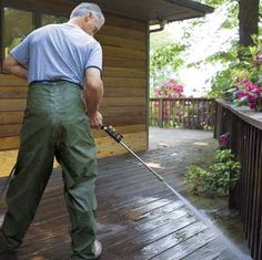 How to spruce up a worn-out deck in six easy steps.   Photo: Kristine Larsen   thisoldhouse.com