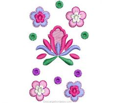 Diseño bordados de Flores con Decoración - Descargar Diseños Bordados Free Machine Embroidery Designs, Diy And Crafts, Elsa, Flowers, Barbie Barbie, Brother, Mary, Patterns, Baby Art Crafts
