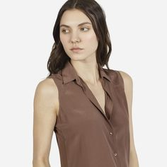 The Silk Sleeveless - Everlane