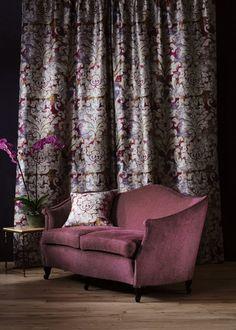 Tissus Palestina et Calina - Lorca chez Osborne & Little - Marie Claire Maison