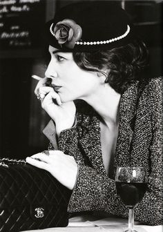 "una-lady-italiana:  Cate Blanchett as Coco Chanel - Photo by Karl Lagerfeld - Publication: ""Coco No.2"" Vogue Australia, December 2003"