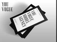 You Vogue Business Card Design