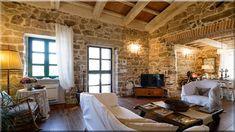 fagerendás házban berendezett otthonos nappali (Lakberendezés 10)