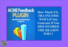 How Much EXTRA INCOME WOULD You Generate If You DISCOVERED THE REASON WHY? http://f310267hpoex8n8zr9qenaezz2.hop.clickbank.net/?tid=ATKNP1023