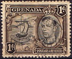 Grenada 1938 King George VI SG 154a Fine Mint Scott 133a Other West Indies and British Commonwealth Stamps HERE!
