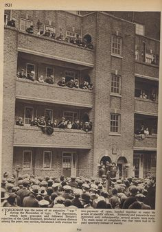 Peckham rent strike 1931