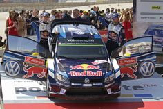 Andreas Mikkelsen und Anders Jaeger bei der Abschlusszeremonie im Rahmen der Rallye Portugal 2016 #AndreasMikkelsen   #mikkelsen   #AndersJaeger   #Jaeger   #rallyeportugal #rallydeportugal www.motorsport-freelancer.de #vwpolowrc   #vwpolo   #rallyevwpolo   #rallyevwpolowrc #volkswagenmotorsport   #vw #volkswagen      #wrc Bildquelle: Volkswagen Motorsport Content & Media pool
