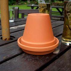 Great idea for an ashtray!
