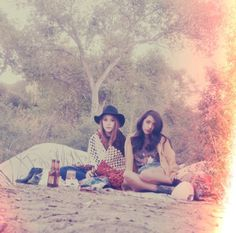 Have a 70's picnic.